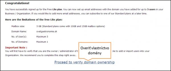 ako vytvoriť e mail zadarmo